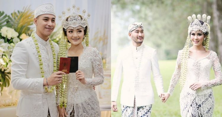 Gaya 9 pasangan seleb menikah dengan adat Sunda, serasi abis