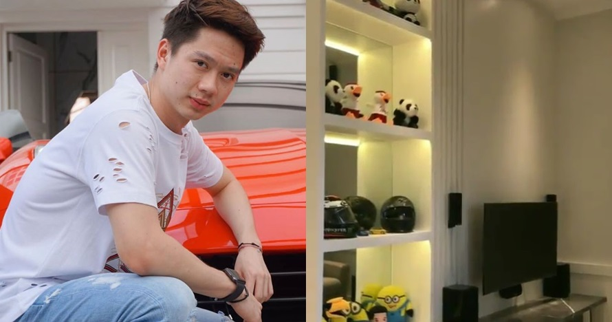 7 Potret rumah baru Kevin Sanjaya, lemari trofi jadi sorotan