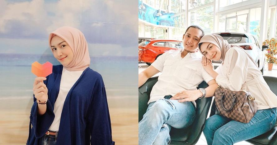 Momen bahagia Melody Prima umumkan kehamilan anak kedua