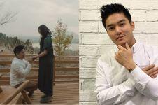 Cerita Boy William melamar romantis Karen Vendela di Gunung Fuji