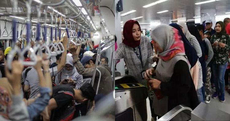 Wanita ini bawa hula hoop di MRT, penyebabnya tak kamu sangka