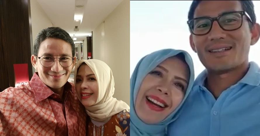 Ungkapan manis Sandiaga Uno untuk istri saat ultah pernikahan ke-23