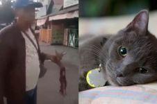 Viral pria makan kucing hidup-hidup, polisi cari pelaku
