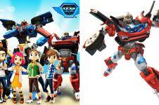 7 Karakter robot dalam serial kartun Tobot yang paling dikenal