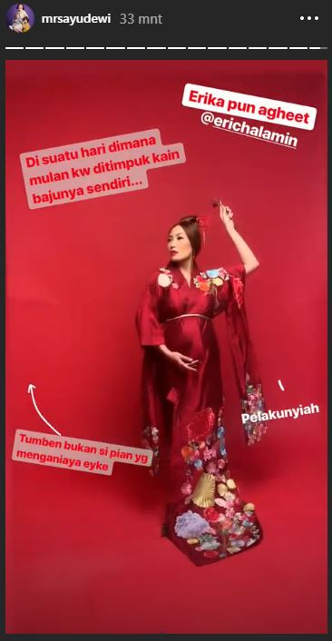 Potret maternity Ayu Dewi © 2019 brilio.net
