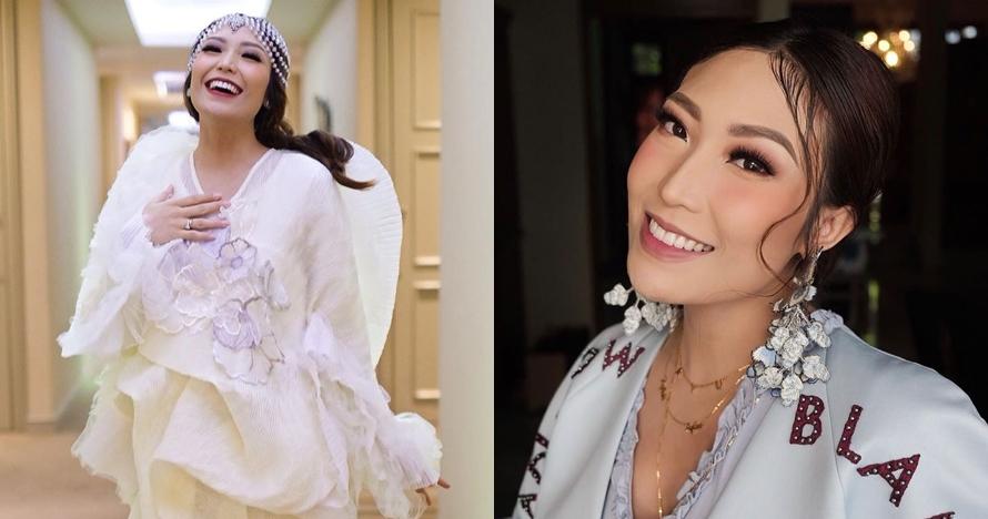 8 Potret maternity Ayu Dewi ini mirip tokoh Disney Mulan