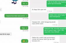 9 Chat lucu sama driver ojek online, endingnya curhat soal cinta