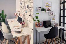 25 Desain ruang kerja minimalis untuk di rumah, dijamin produktif
