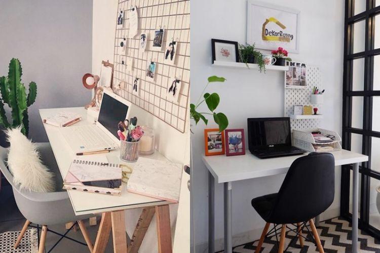 25 Desain Ruang Kerja Minimalis Untuk Di Rumah Dijamin Produktif