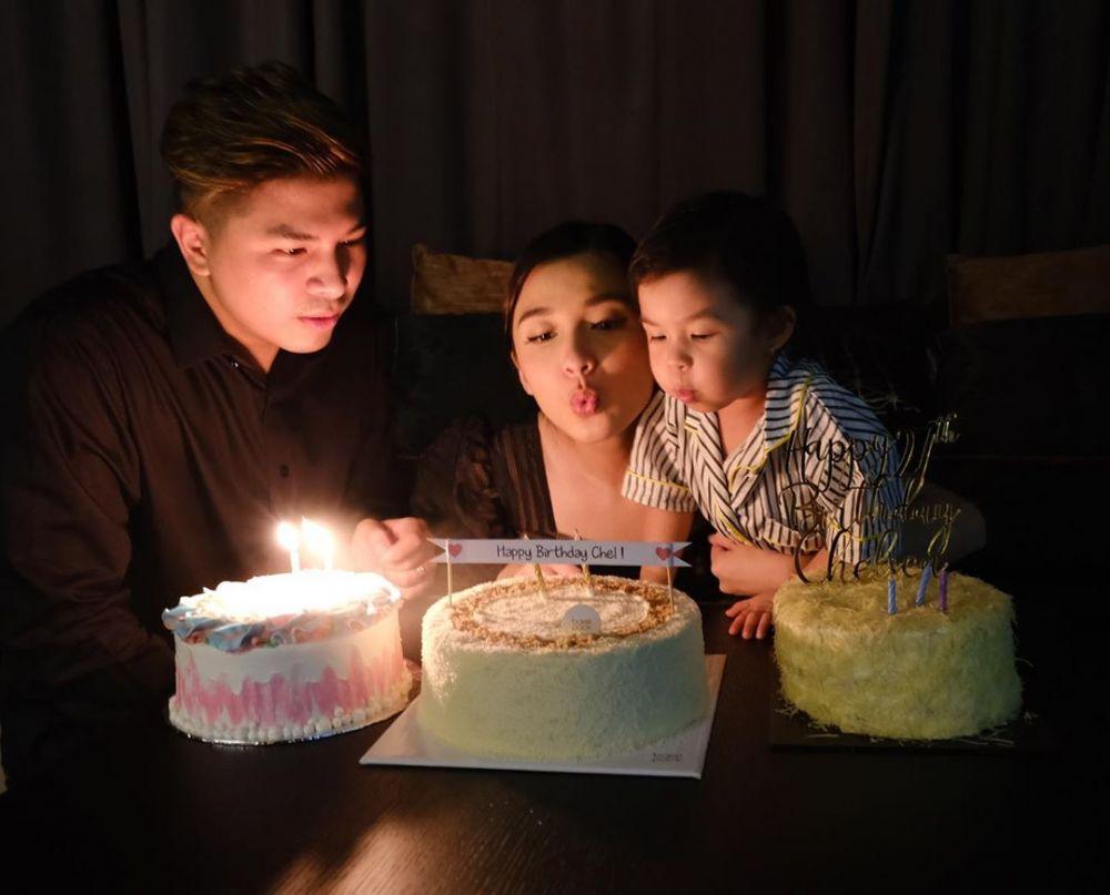 momen ulang tahun Chelsea Olivia instagram