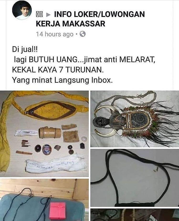 benda dijual lucu © 2019 berbagai sumber