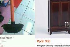 10 Barang 'antik' dijual di online shop ini malah bikin tepuk jidat