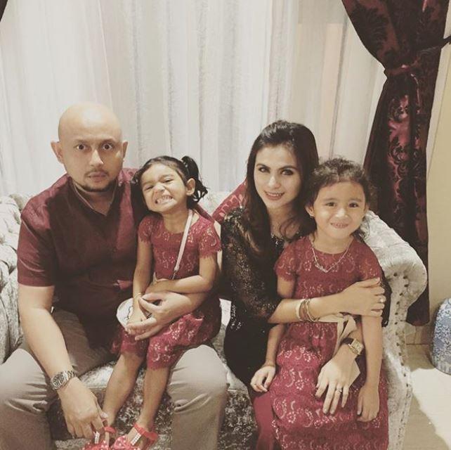 potret keluarga asha shara  © 2019 brilio.net