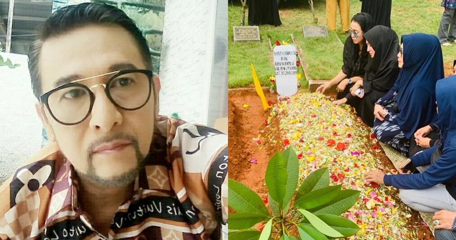 8 Momen pemakaman aktor Dieno Ramly, berurai air mata