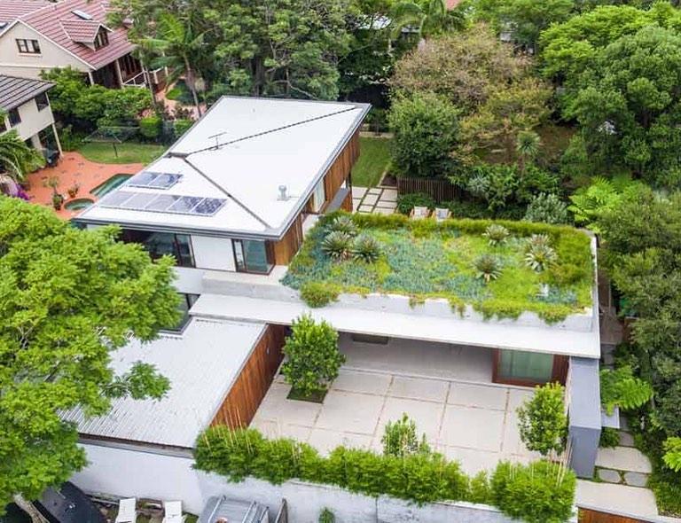 25 Desain Rooftop Garden Minimalis Sejuk Dan Cozy Abis