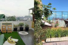 25 Desain rooftop garden minimalis, sejuk dan cozy abis