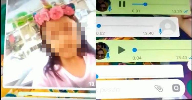 Isi pesan WhatsApp bocah kelas 1 SD dan pacarnya, tak sesuai umur