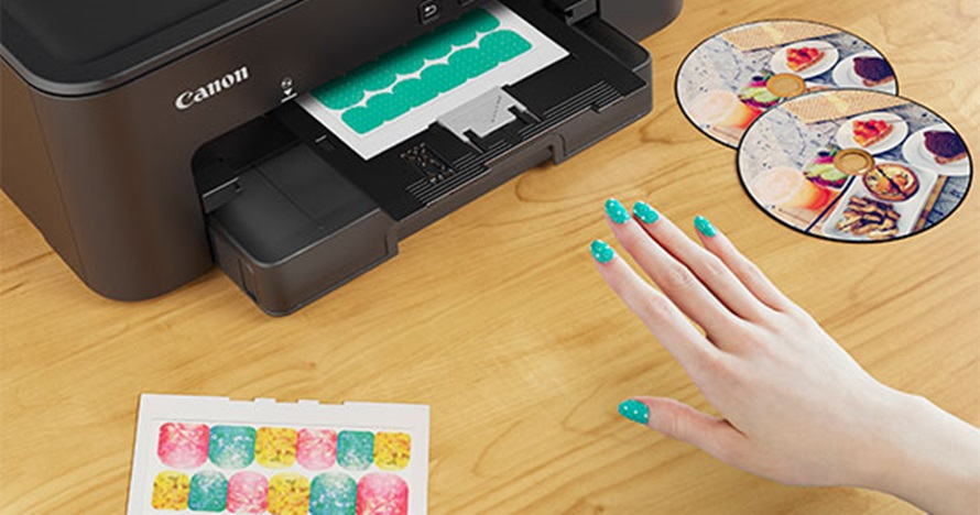 Cara kreasi stiker kuku hanya pakai printer, cantik & mudah