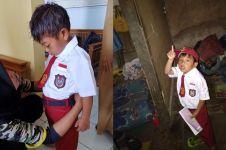 Kisah Jodi, bocah SD asal Kuningan ke sekolah tanpa alas kaki
