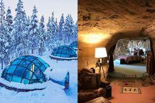 12 Hotel paling unik di dunia, ada yang di dalam gua