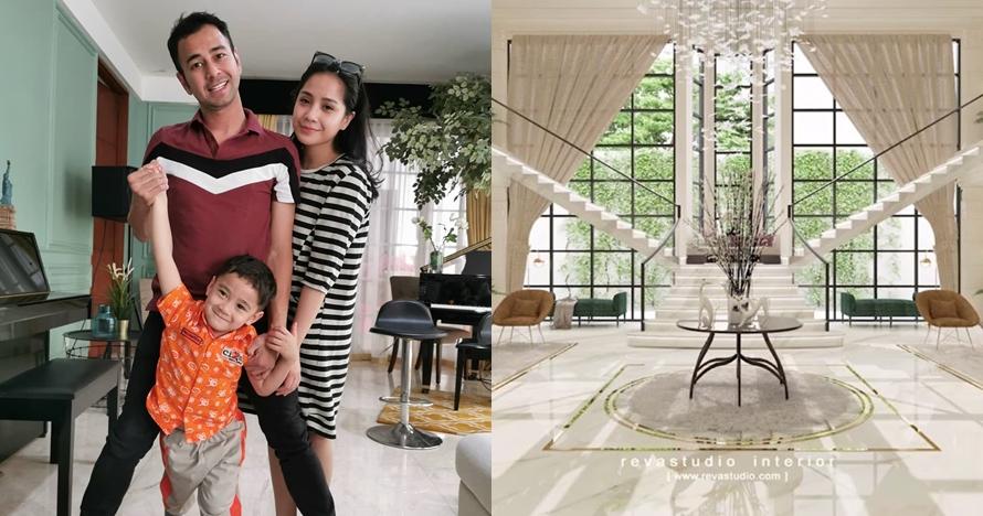 10 Detail desain rumah baru Raffi Ahmad & Nagita, mewah abis
