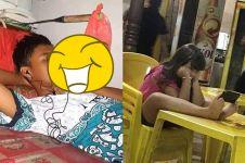 8 Kelakuan lucu cara orang permudah hidup ini bikin geleng kepala