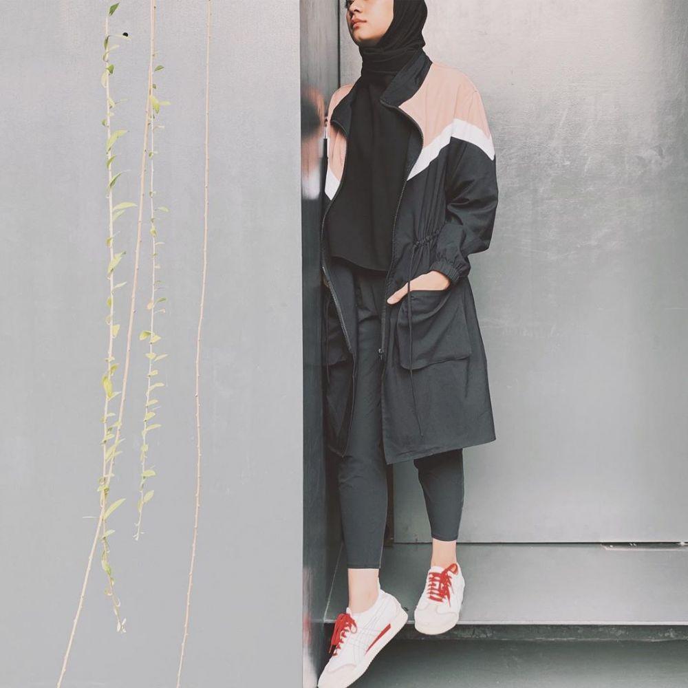 Gaya outfit Ayudia © 2019 brilio.net