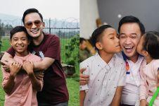 10 Potret kedekatan Ruben Onsu & putra angkatnya, penuh kasih