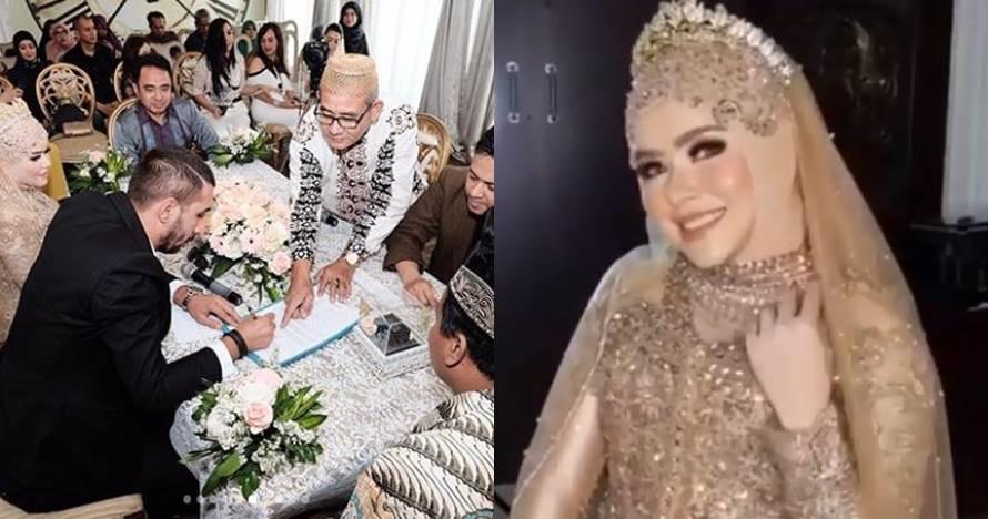 6 Momen pernikahan Siti Liza dan pria bule Steve Castle