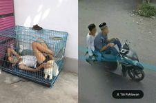 10 Potret orang Indonesia kelewat santai, aksinya bikin tepuk jidat