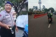 10 Aksi polisi saat bertugas ini bikin kagum hingga tersenyum