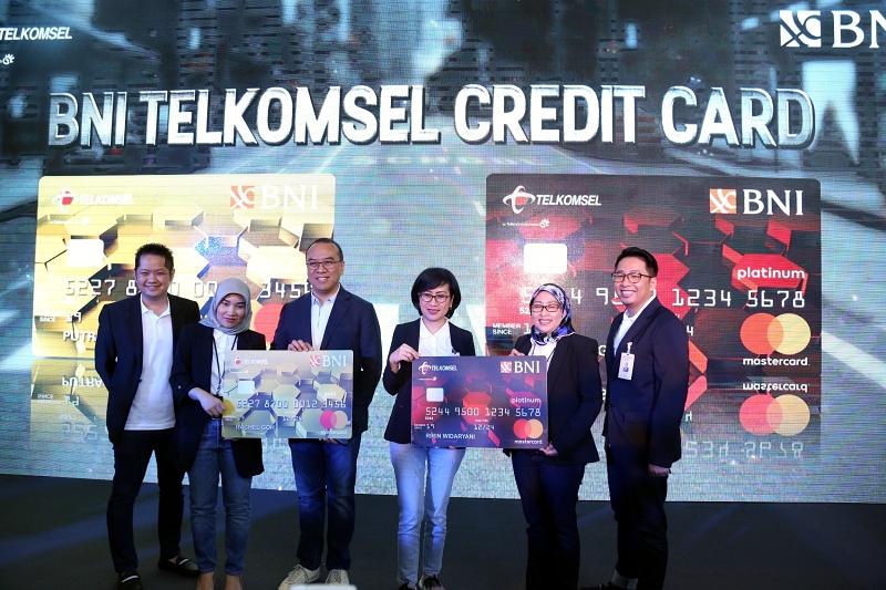 Telkomsel dan BNI luncurkan kartu kredit untuk gaya hidup digital