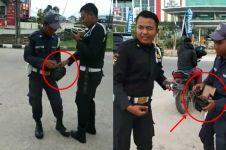 Viral video oknum sekuriti tebar paku di jalanan, bikin heboh