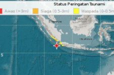 Ini daftar daerah berpotensi tsunami gempa Banten