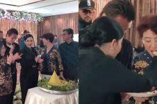 8 Momen perayaan ultah Syahrini ke-37, sederhana penuh tawa