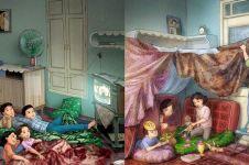 10 Komik lika-liku kehidupan keluarga ini bikin kangen rumah