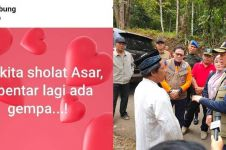 Viral Eyang Ibung, ini tanggapan BNPB tentang ramalan gempa