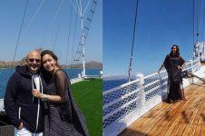 Liburan ke Labuan Bajo, Maia Estianty boyong keluarga naik jet pribadi