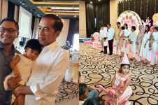 Momen ulang tahun Sedah Mirah, didominasi warna pink
