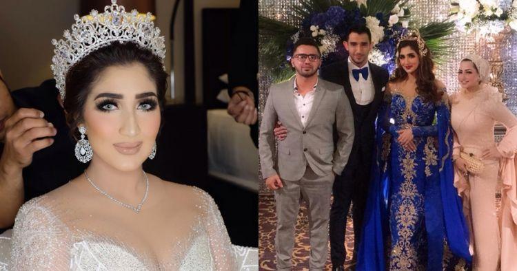 12 Momen resepsi pernikahan Tania Nadira & Abdulla Alwi, mewah abis