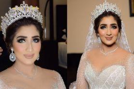 Tania Nadira kenakan gaun pengantin swarovski, mimpi jadi nyata