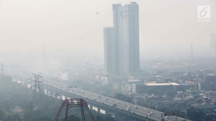 Usai mati lampu, kualitas udara Jakarta sempat membaik