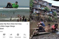 Remaja ini minta diedit di pantai, 10 hasil fotonya kocak abis