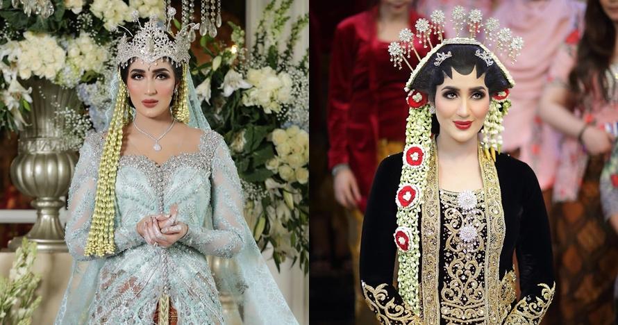 10 Inspirasi kebaya pernikahan ala Tania Nadira ini bisa kamu tiru
