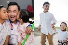 10 Momen kedekatan putri Ruben Onsu dengan kakak angkatnya, akrab
