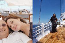 10 Momen liburan Maia Estianty di Labuan Bajo, pakai kapal mewah