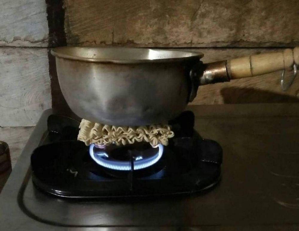 cara memasak lucu © 2019 brilio.net