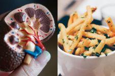 Konsumsi berlebihan 12 makanan dan minuman ini bisa picu sakit ginjal