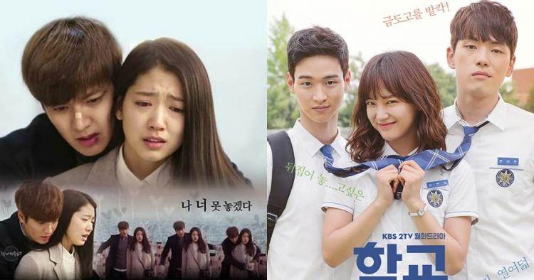 12 Drama Korea romantis anak sekolahan, ada yang berakhir putus