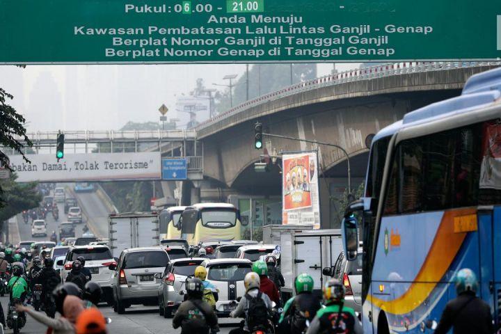 Ganjil genap resmi diperluas, ini 16 ruas jalan yang diberlakukan